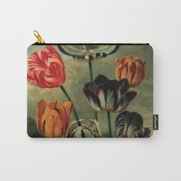 tulips by Robert John Thornton (1807) Carry-All Pouch