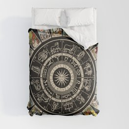 The Major Arcana & The Wheel of the Zodiac Comforters