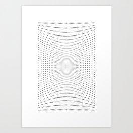 Plus Blowing    Art Print
