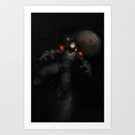 Astronaut's Truth - Final Version Art Print