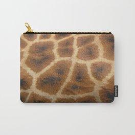 Giraffe Skin Carry-All Pouch