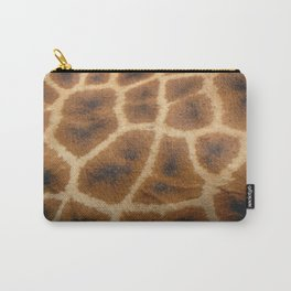 Giraffe Skin Carry-All Pouch