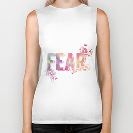 fear not, for I am with you Biker Tank