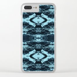 Mountain Mirror Clear iPhone Case