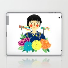Flower Kite Laptop & iPad Skin