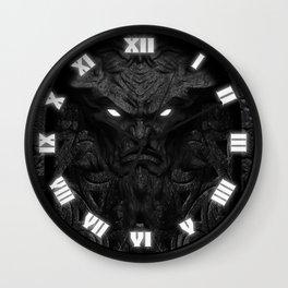 The Demon Door Wall Clock