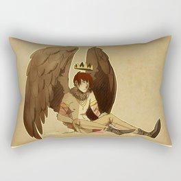 bird prince Rectangular Pillow