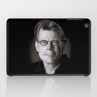 stephen king iPad Cases featuring Stephen King by Giampaolo Casarini