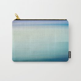 I Love the Sea Ombre Abstract Carry-All Pouch