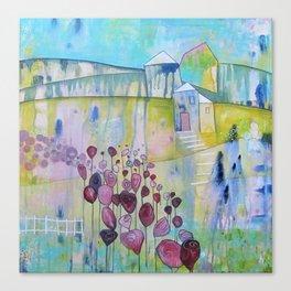 Mon Coeur Canvas Print