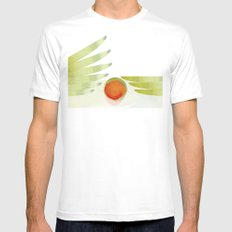 green 2 | digital sessions Mens Fitted Tee White MEDIUM