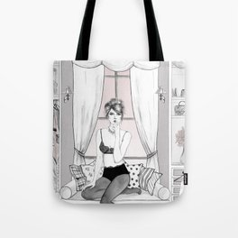 Peace in Cabinet Tote Bag