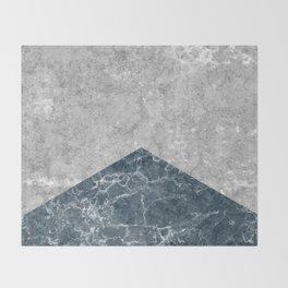 Concrete Silk Throw Blanket