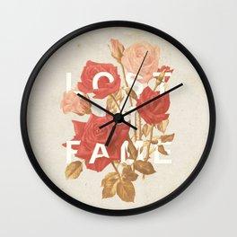 Lost In Fame II Wall Clock