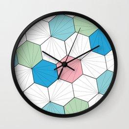Mara (Multi-colored) Wall Clock
