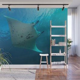 Manta ray Wall Mural