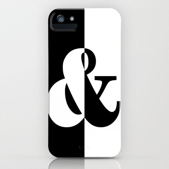 Black & White iPhone Case