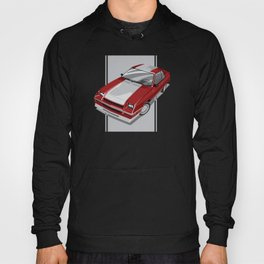 1983 L-Body Charger Red Hoody