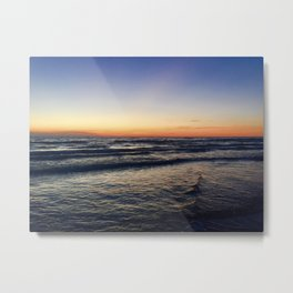Sunset at Sable Metal Print