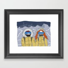 the day after tomorrow Framed Art Print