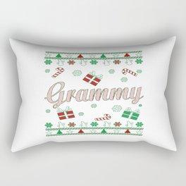 Grammy Christmas Rectangular Pillow