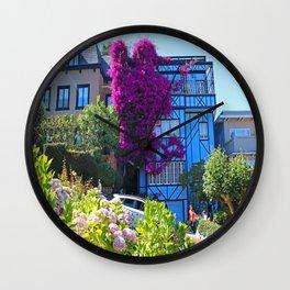 Lombard Street Wall Clock
