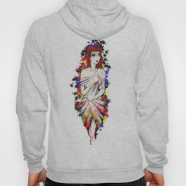 Dripping drape of colours Hoody