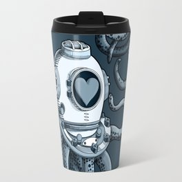 I'm falling in love with you? (blue gray) Travel Mug