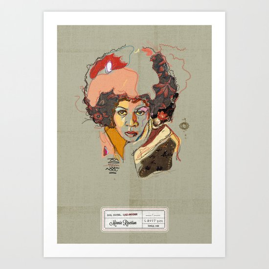 Minnie Riperton - Soul Sister | Soul Brother Art Print