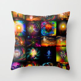 Collected Works Throw Pillow
