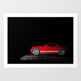 Mustang Ready Art Print