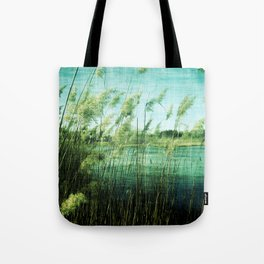 Reeds At New Brooklyn Tote Bag