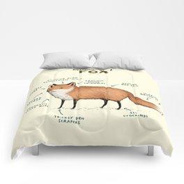 Anatomy of a Fox Comforters