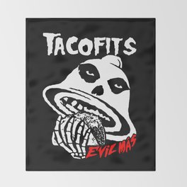 TACOFITS Throw Blanket