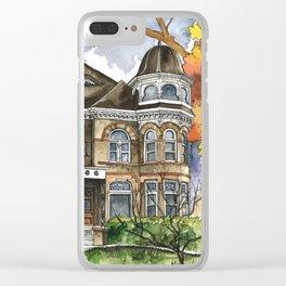 Victorian Autumn Clear iPhone Case