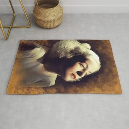 Carole Lombard, Vintage Actress Rug