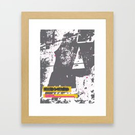 ROUTES/ROOTS Framed Art Print