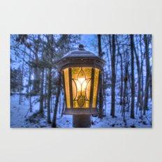 Frozen Lantern Canvas Print