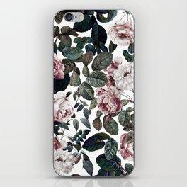 Vintage garden iPhone Skin