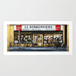 La Bonbonniere Art Print