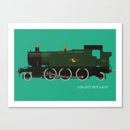 Collett 4575 2-6-2T Canvas Print