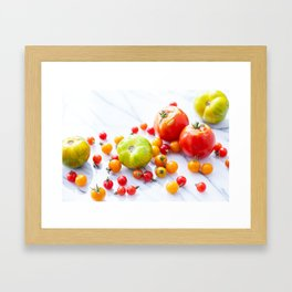 Tennessee Tomatoes 2 Framed Art Print