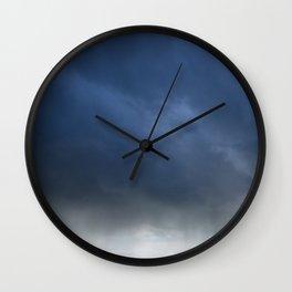 Stormy Expanse Wall Clock