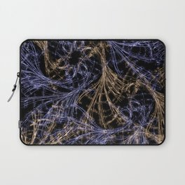 Blue Magical Wisps Laptop Sleeve