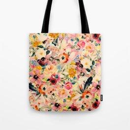 Picnic Blooms Tote Bag