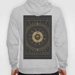 La Roue de Fortune or Wheel of Fortune Tarot Hoody