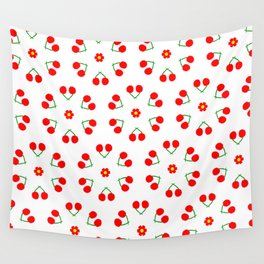 Cherry Blossoms Pattern Wall Tapestry