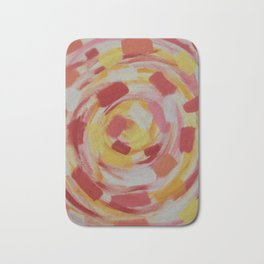 Abstract Wall Art Bath Mat