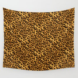 Chic Leopard Fur Fabric Wall Tapestry