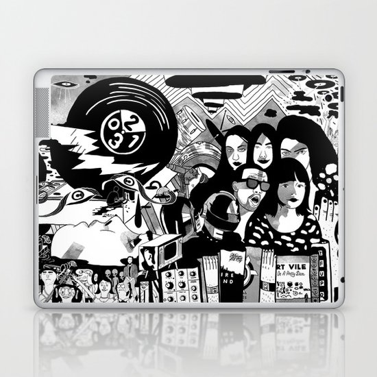 Sound & Vision: 2013 in Music by Steven Fiche Laptop & iPad Skin